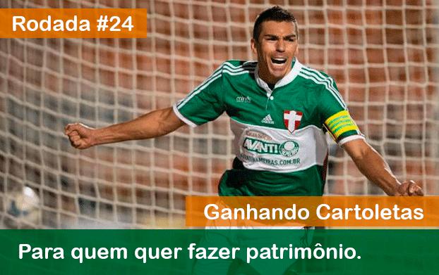 Ganhe cartoletas na 24ª Rodada do Cartola FC agora!