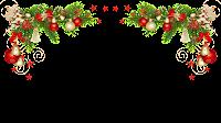 Decoração Natal _ Moldura PNG