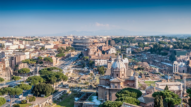 Landscape City of Rome