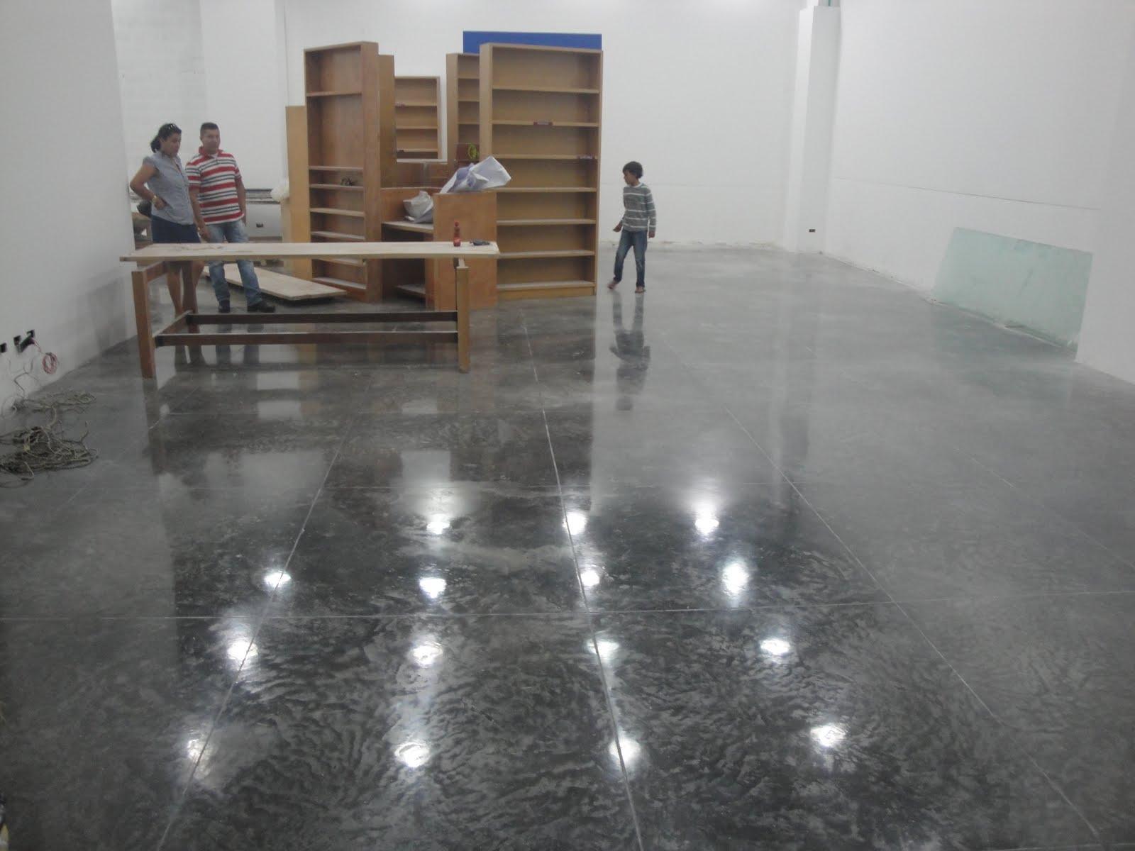 pisos en concreto pulido