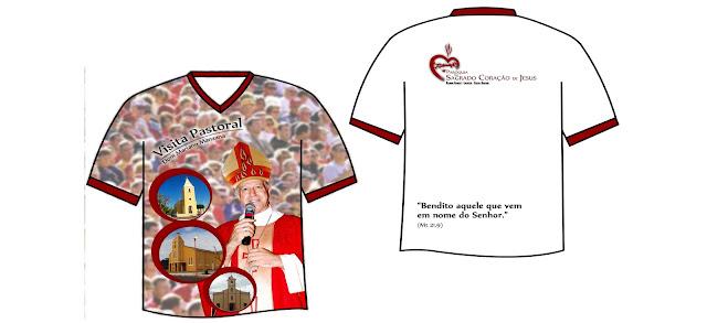 PASCOM apresenta a camiseta da Visita Pastoral