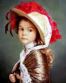 Retratos Femeninos Infantiles