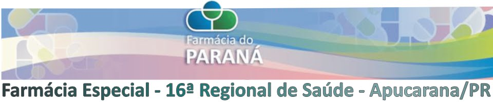 16ª RS - Farmácia Especial