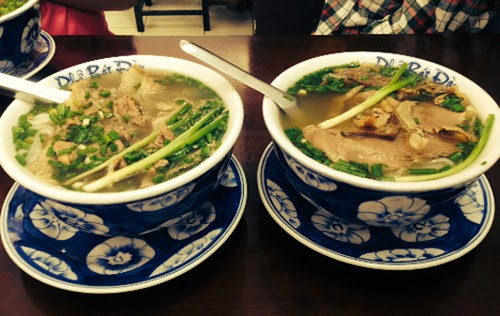 Phở is just one of many, many, MANY noodle soups in Vietnam. From a strictly linguistic standpoint, phở refers to the rice noodles, not the soup itself.