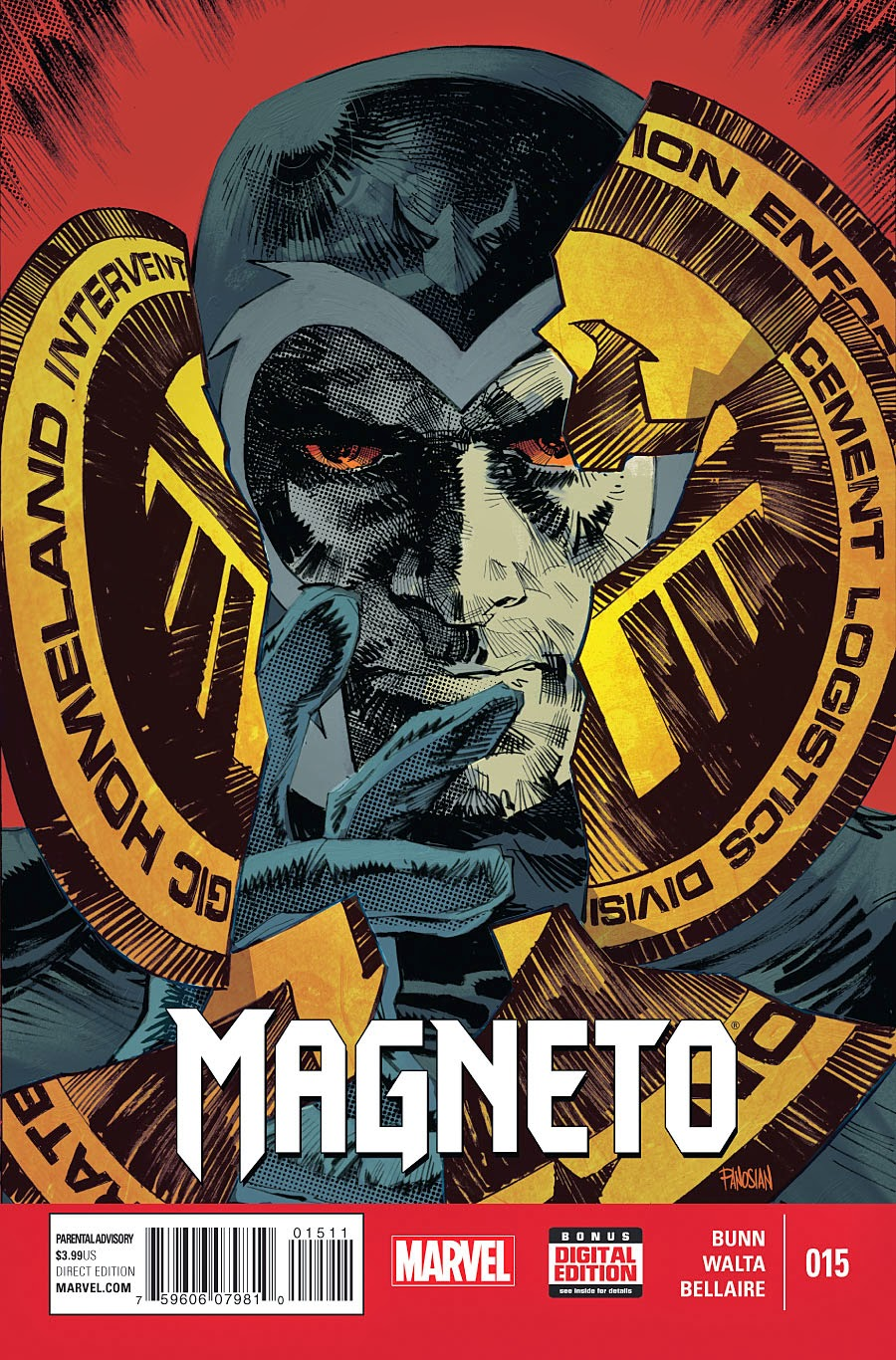 Magneto breaks S.H.I.E.L.D