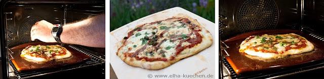 Miele Backofen mit Klimagaren - ideal zum Pizza backen auf dem Miele Backstein