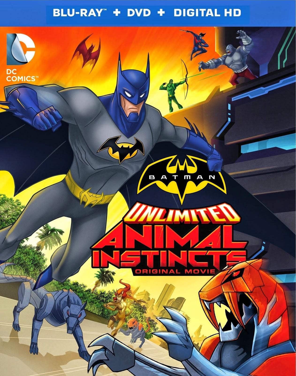 Batman Sem Limites: Instintos Animais – Dublado (2015)