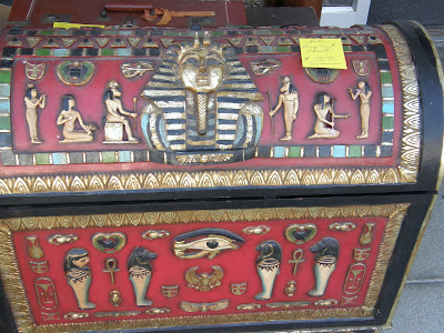 Egyptian trunk in San Juan Bautista