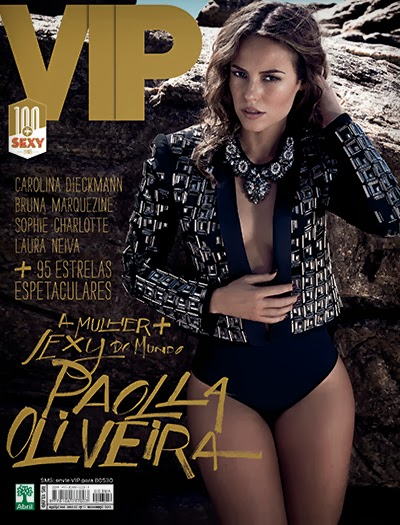 Download   Paola Oliveira e as 100+ Sexy : Revista Vip   Novembro 2013