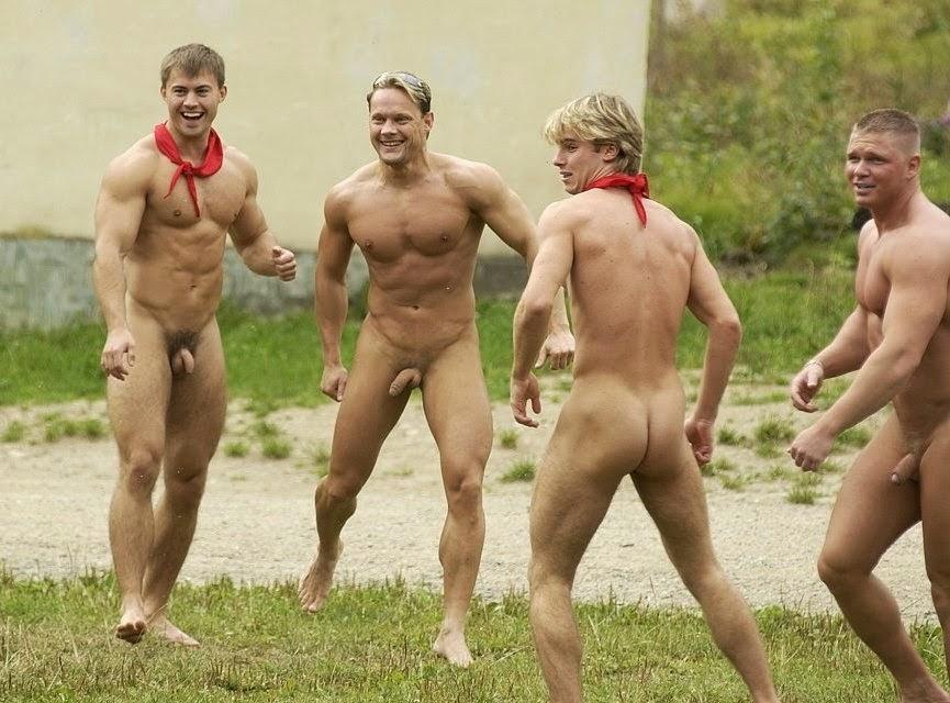 Кто видел в бане голых мужиков