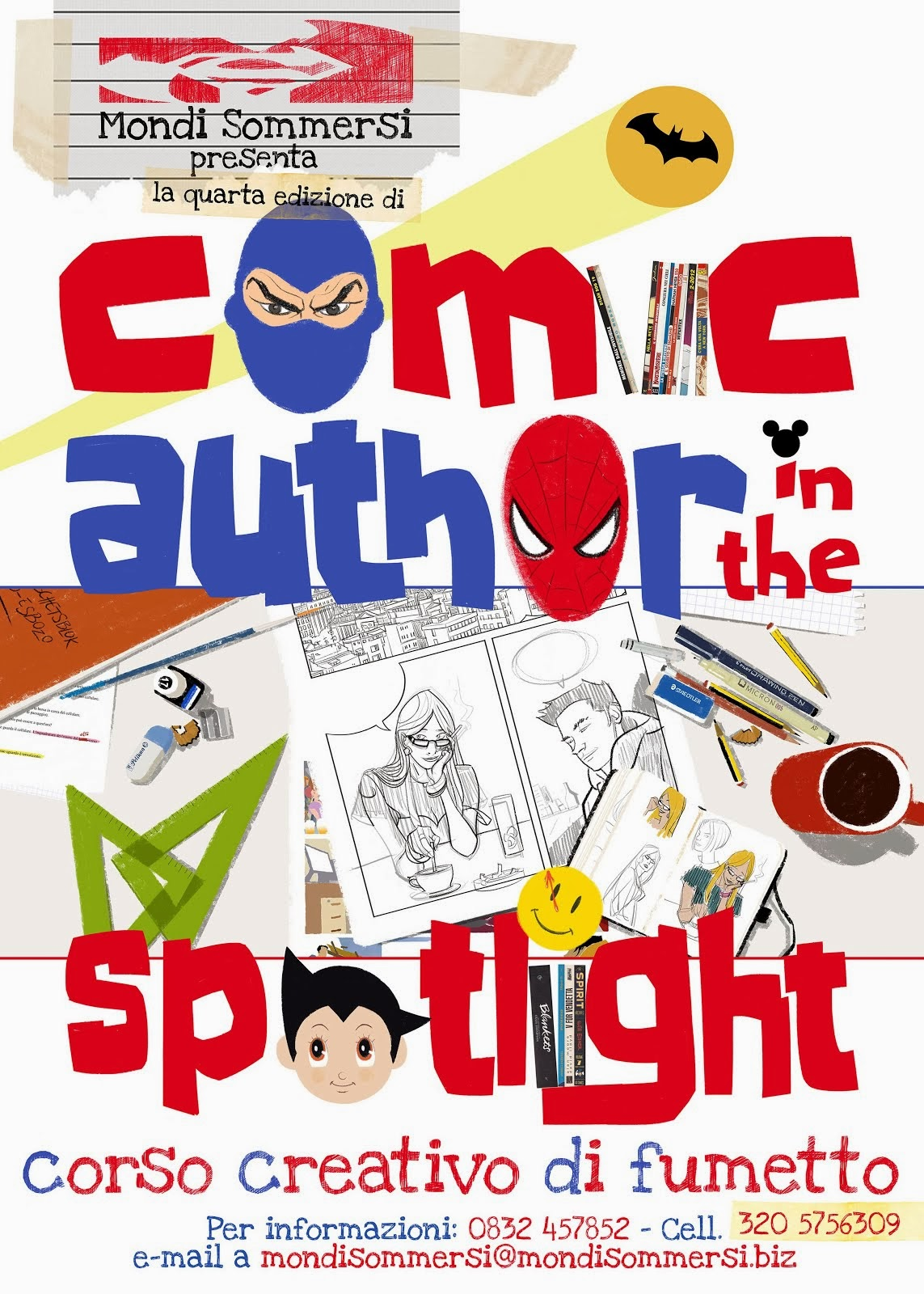 Comics Author In The Spotlight