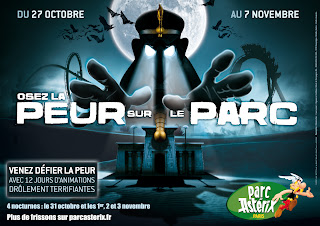 Peur sur le Parc Astérix du 27 octobre au 7 novembre 2012