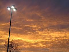 A lovely sunset sky