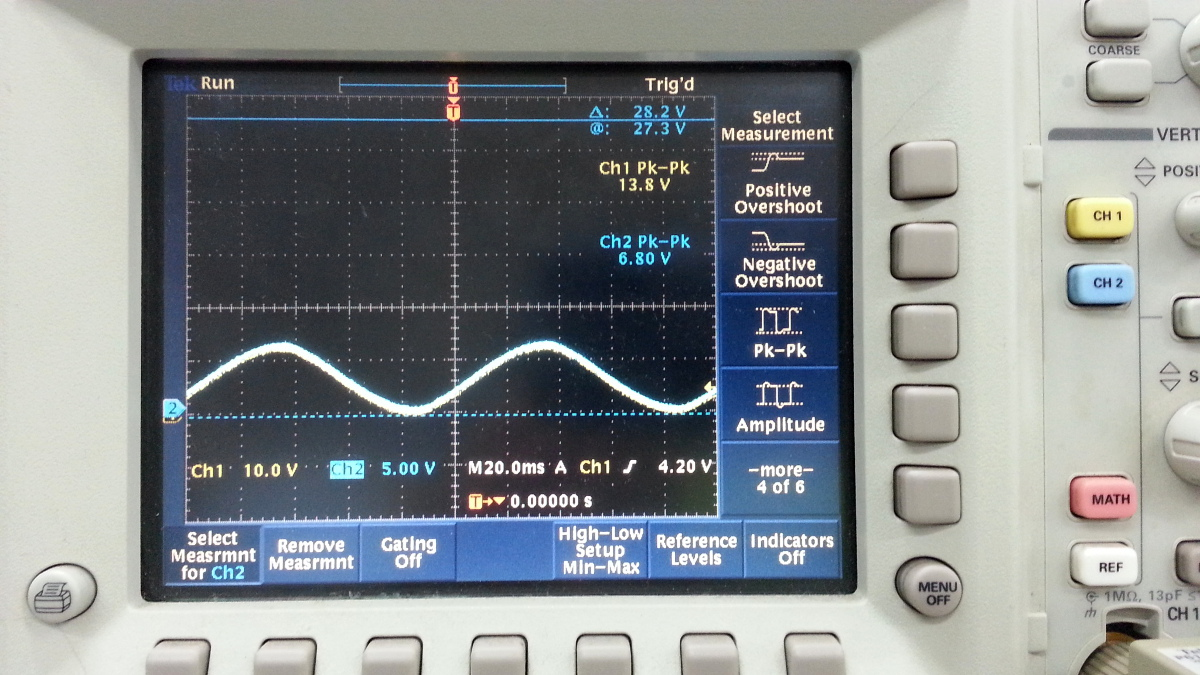 Cool Emerald Non Inverting Amplifier Using Op Amp Noninverting Lm358n Page 2 Which Was Connected To Input Of The Implifier 5 V Per Division After That I Calibrated Trimmer Get Identical Waves At Screen P