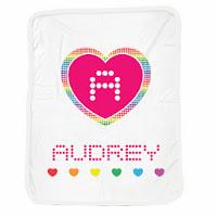 Psychobaby Digi Rainbow Blanket