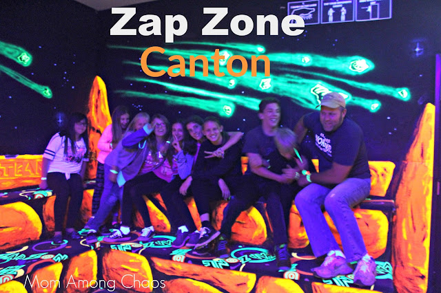 Zap Zone, Canton, Zap Zone Canton, laser tag, Things to do, birthday, birthday parties, arcade, tokens