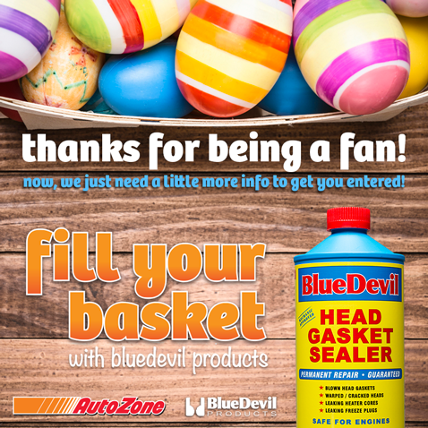 Fill Your Basket with BlueDevil Products
