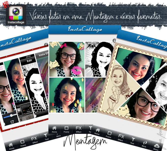 iphone, Instacollage, dica da Jana, blogger, blogueira, joinville, app