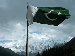 PAKISTANIFLAGSWALLPAPERS2528212529 - Pakistani Flags