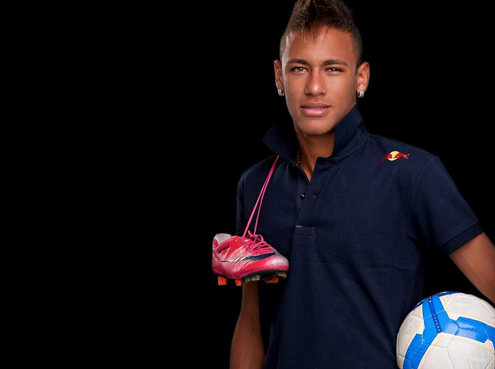 Neymar 2014 Hairstyle