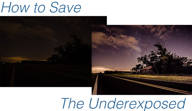 How to Save an Underexposed Photo Using Lightroom