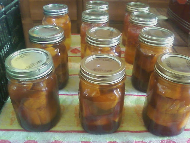 canning candied yams