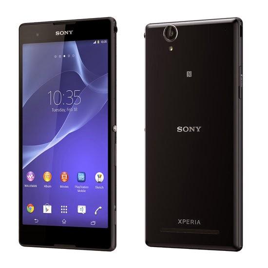O smartphones Xperia T2 Ultra da Sony, já pode ser encontrado em diversas lojas do Brasil