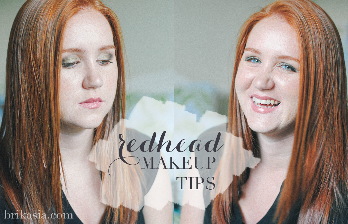 redhead makeup tips, beauty tips for red hair