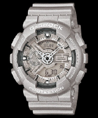 CASIO G-SHOCK BIG-CASE GA-110BC-8AJF Silver Color