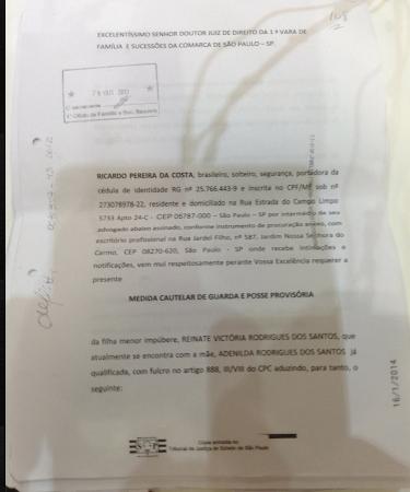 Liminar indeferida Dr Roselene Medeiros de Matos.