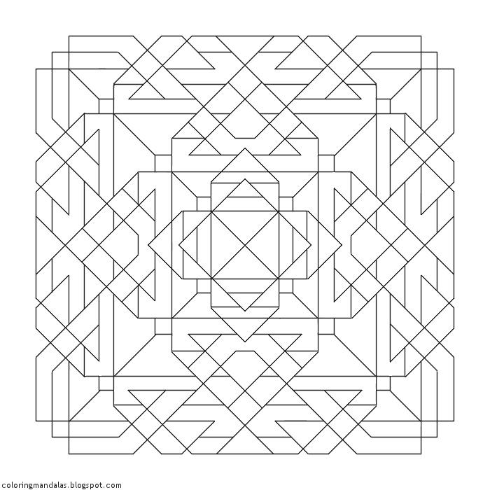 Coloring Mandalas 53 Unity