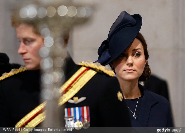 Catherine, Duchess of Cambridge attends a Service of Commemoration for troops who were stationed in Afghanistan