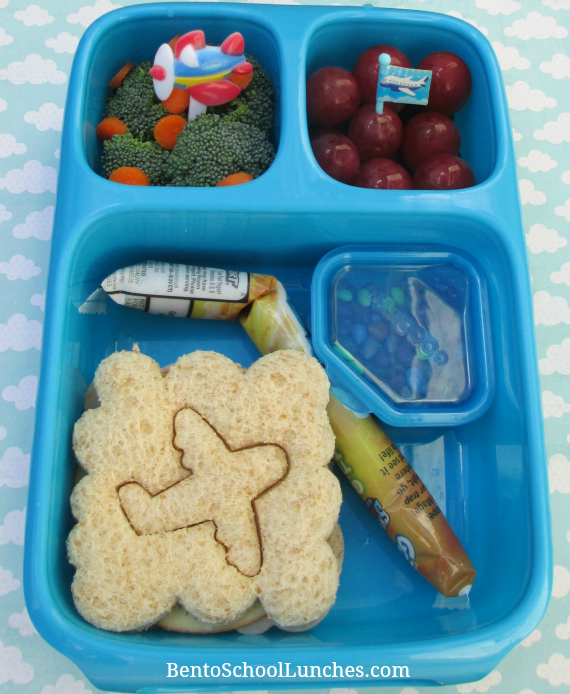Airplane, Transportation, Goodbyn Hero Bento School Lunches