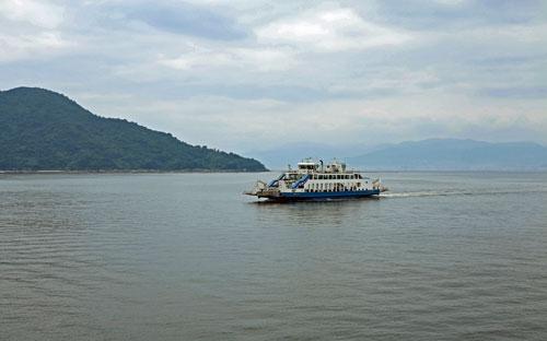 Koyo to Hiroshima Port Ferry.
