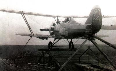 И-5 участвовал в программе испытаний реактивных снарядов РС-82