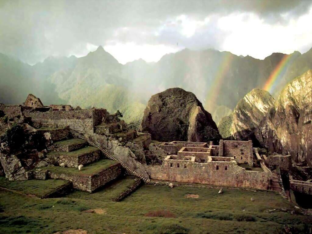 Peru - Page 2 Machupicchu(peru)+ARCOIRIS