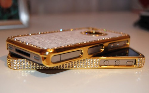 Sparkly, Gold Holiday IPhone Details by Cool Chic Style Fashion