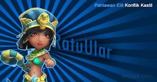 Ratu Ular (Serpent Queen) - Pahlawan Elit - Konflik Kastil