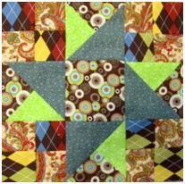 One Quilt Block Pattern Twelve Different Ways in PDF Form