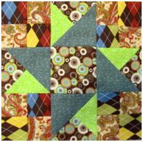 One Quilt Block Pattern Twelve Different Ways in PDF Form