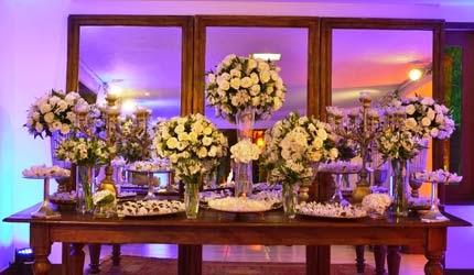 decoração das bodas de cristal