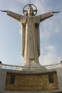 32m high Jesus statue in Vũng Tàu city