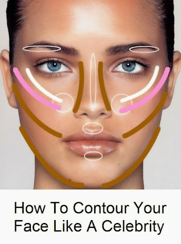 #Beauty : How To Highlight & Contour Your Face Like A ...