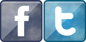 Download Logo Facebook dan Twitter