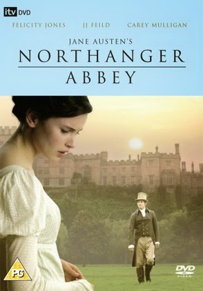 Northanger Abbey 2007 British DVD cover
