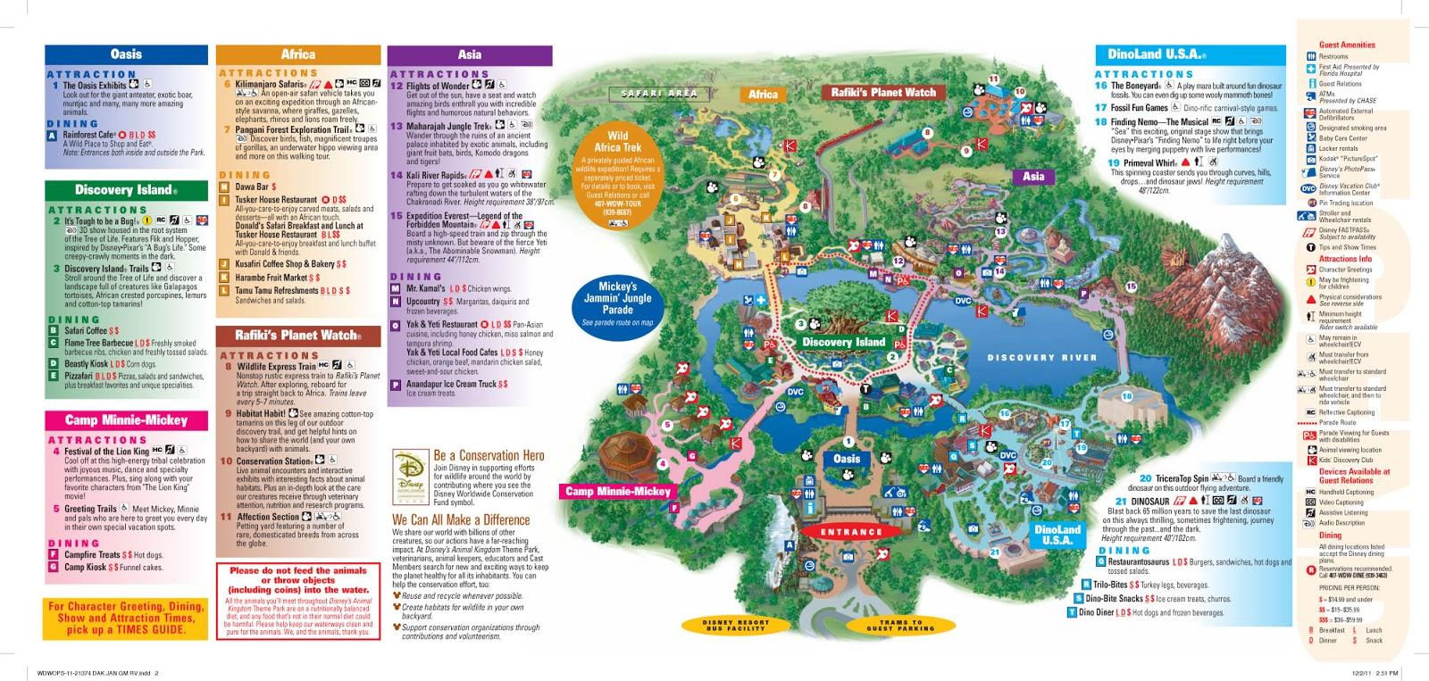 Terrible image inside animal kingdom printable map