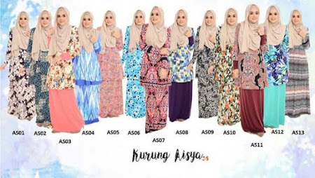 Terbaru & Menawan Kurung Aisha Ready Stock. Shop now!