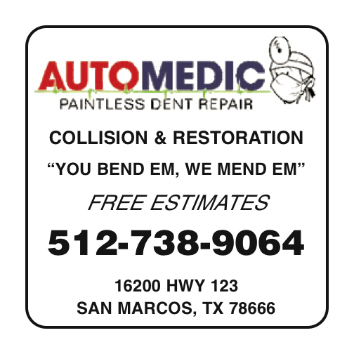 Automedic Paintless Dent Repair, Collision, and Restoration