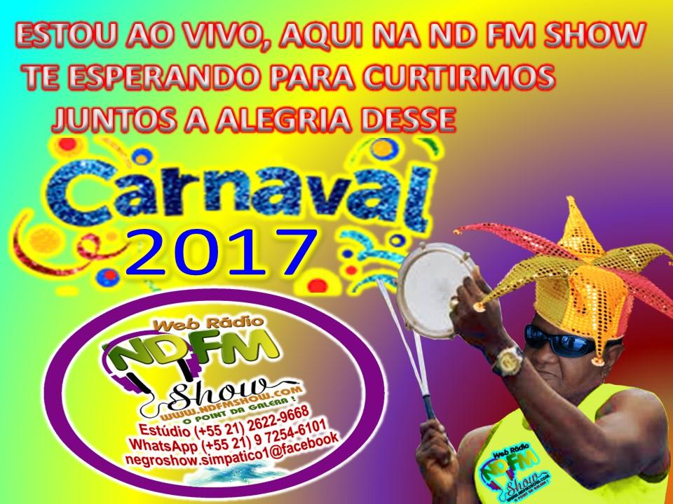 E terminou assim o carnaval 2017