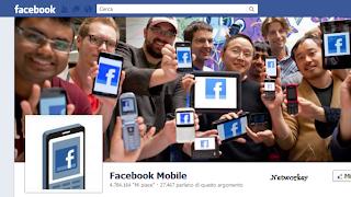 facebook mobile immagini